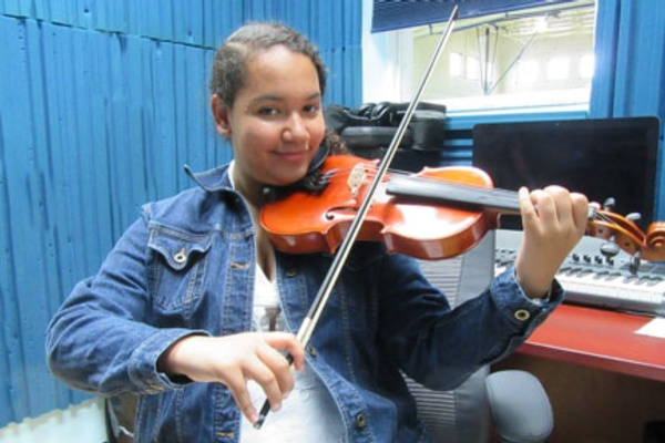 Building a String Orchestra and Self-Esteem
